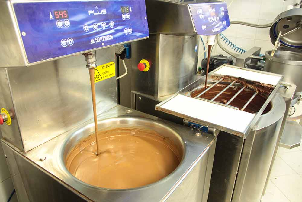 Tempéreuse à chocolat-Chocolat au lait et fondant