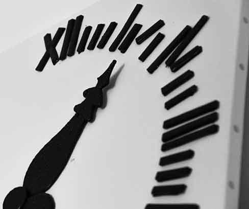 orologio di cioccolato su tela - arte pasticcera di franco ugetti