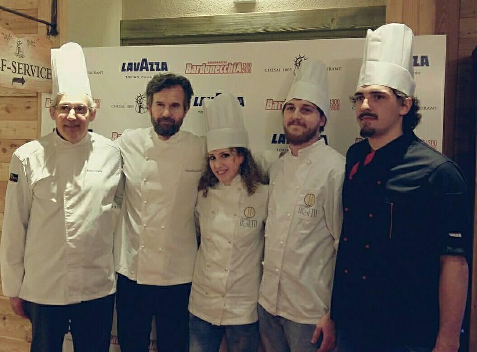 Cena tra le Stelle – Franco Ugetti con lo chef Carlo Cracco