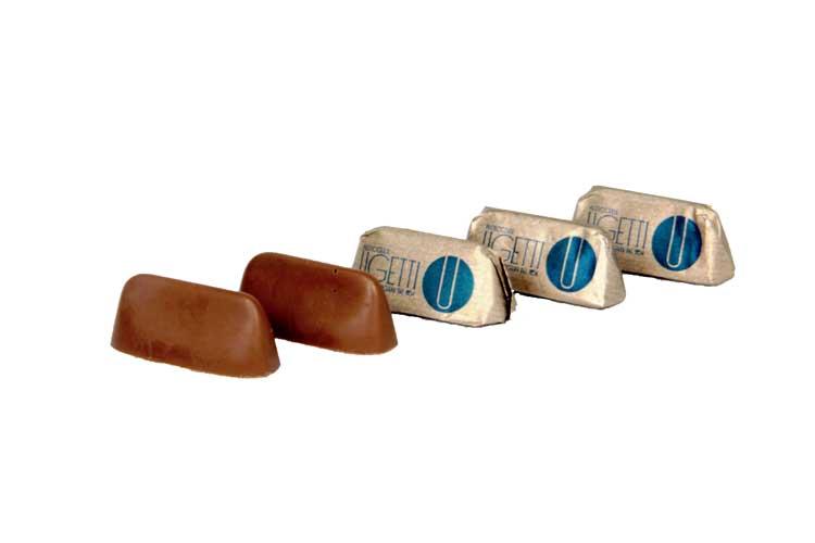Gianduiotti cioccolatini con Nocciola piemonte IGP - cioccolateria UGETTI