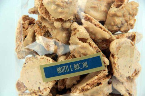 biscotti brut e bun - pasticceria Ugetti Bardonecchia - dolci di pasticceria secca con Nocciole piemonte IGP