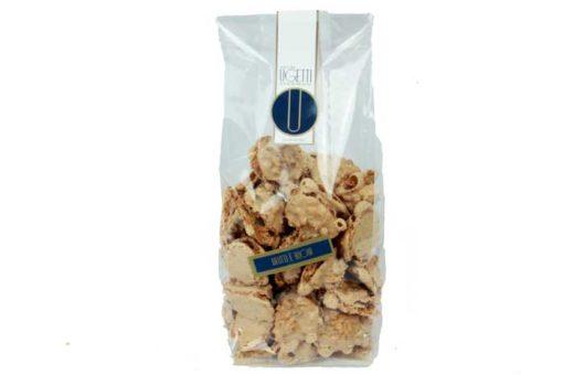 Confezione biscotti Brut e bun - Ugetti Bardonecchia - dolci di pasticceria secca con Nocciole piemonte IGP