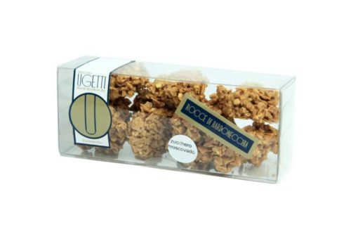 Muscovado rochers  - Ugetti Patisseries - Rochers, Bardonecchia sweet treats made with chocolate, crunchy biscuits, puffed rice and fruit