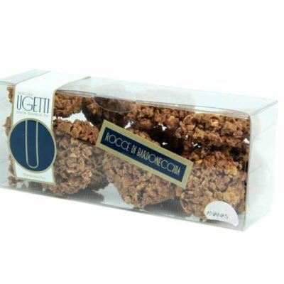 Bardonecchia Pineapple rochers - Ugetti patisseries sweet - Rochers, Bardonecchia sweet treats made with chocolate, crunchy biscuits, puffed rice and fruit.