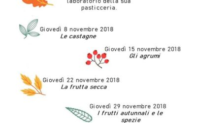 Laboratorio di Pasticceria: i nostri corsi di novembre