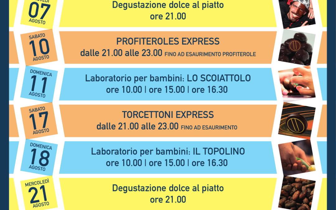 """Eventi di Pasticceria """"Dolce Agosto"""""""